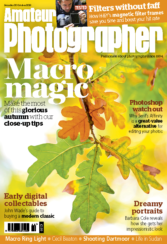 Amateur Photographer Cover 20 October 2018 for web