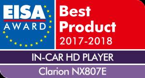 EISA-Award-Logo-Clarion-NX807E