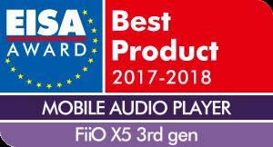 EISA-Award-Logo-FiiO-X5-3rd-gen