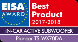 EISA-Award-Logo-Pioneer-TS-WX70DA