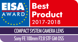 EISA-Award-Logo-Sony-FE-100mm-F2
