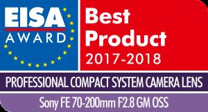 EISA-Award-Logo-Sony-FE-70-200mm-F2