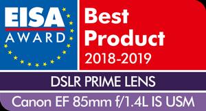 EISA-Award-Logo-Canon-EF-85mm-f1
