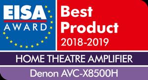 EISA 2018-2019 Nagrodzony Denon AVC-8500H