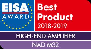 EISA-Award-Logo-NAD-M32