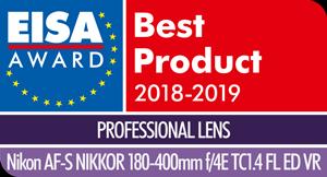 EISA-Award-Logo-Nikon-AF-S-NIKKOR-180-400mm-f4E-TC1