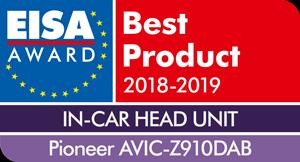 EISA-Award-Logo-Pioneer-AVIC-Z910DAB