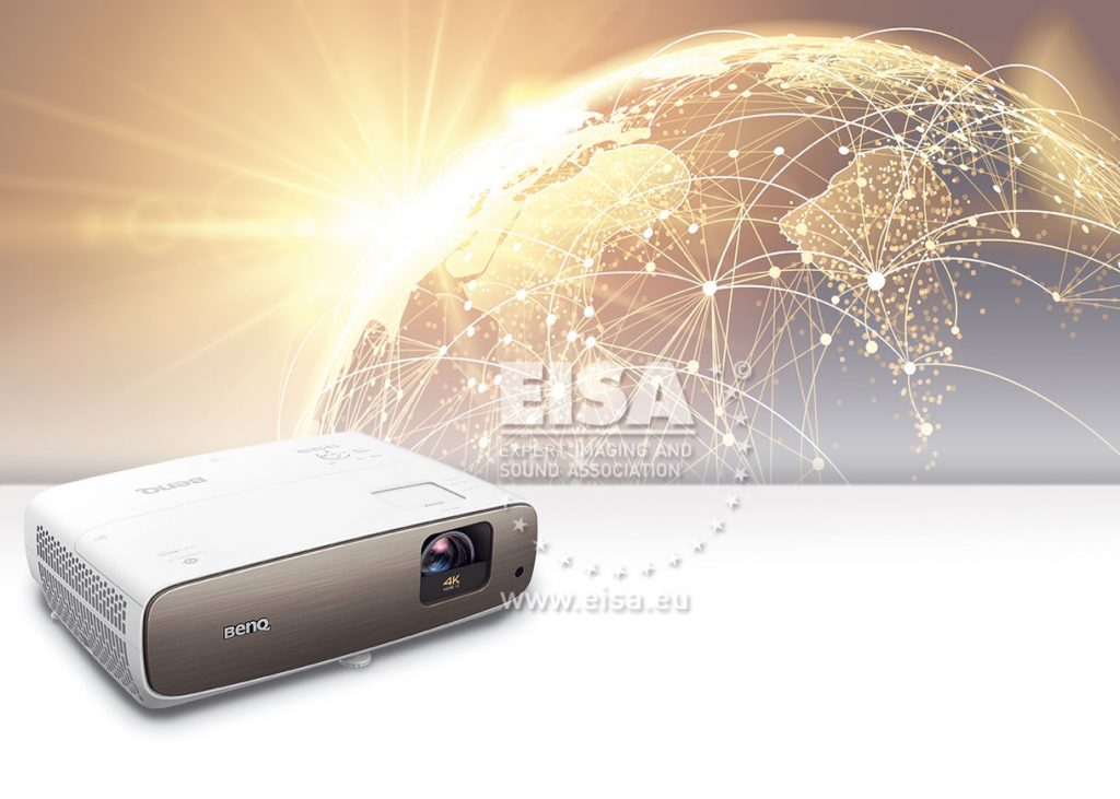 Best Projector 2020.Benq Cineprime W2700 Eisa Expert Imaging And Sound